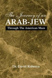 Cover of: The Journey of An Arab-Jew
