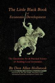 Cover of: The Little Black Book of Economic Development | Don Allen Holbrook