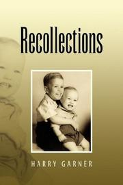 Cover of: Recollections | Harry Garner