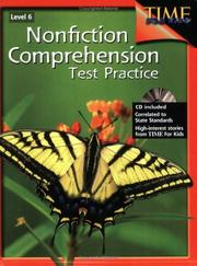 Cover of: Nonfiction Comprehension Test Practice Level 6
