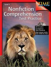 Cover of: Nonfiction Comprehension Test Practice Gr. 5
