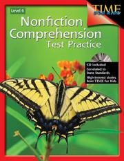 Cover of: Nonfiction Comprehension Test Practice Time for Kids Grade 6