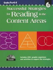 Cover of: Successful Strategies for Reading in the Content Areas Grades Pre K-k (Successful Strategies in the Content Areas) (Successful Strategies in the Content Areas) | Shell Education