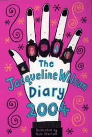 Cover of: THE JACQUELINE WILSON DIARY