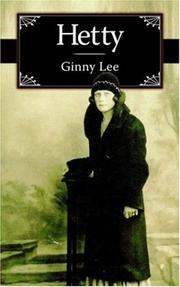 Cover of: Hetty | Ginny Lee