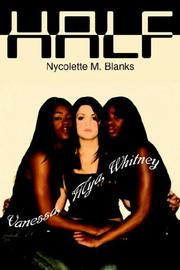 Cover of: HALF | Nycolette M. Blanks