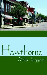 Cover of: Hawthorne | Molly Sheppard