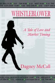 Cover of: WHISTLEBLOWER | Dagney McCall