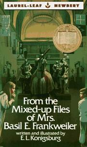 Cover of: From the Mixed-Up Files of Mrs. Basil E. Frankweiler (Laurel Leaf Books) | E.L. Konigsburg