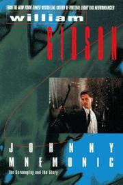 Cover of: Johnny Mnemonic | William F. Gibson