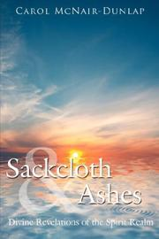 Cover of: Sackcloth and Ashes | Carol McNair-Dunlap