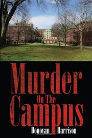 Cover of: Murder On The Campus