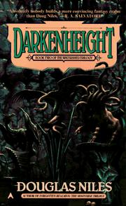 Cover of: Darkenheight | Douglas Niles