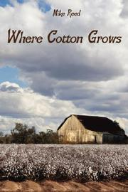 Cover of: Where Cotton Grows
