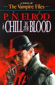 Cover of: A chill in the blood