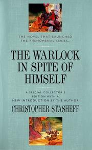 Cover of: The warlock in spite of himself
