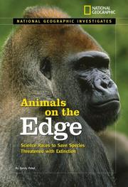 Cover of: National Geographic Investigates: Animals on the Edge | Sandy Pobst