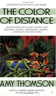 Cover of: The Color of Distance | Amy Thomson