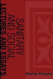 Cover of: Sanitary and Social Lectures