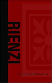Cover of: Rienzi, Last of the Roman Tribunes