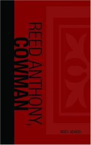 Cover of: Reed Anthony, Cowman | Andy Adams