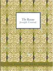 Cover of: The Rescue (Large Print Edition) by Joseph Conrad
