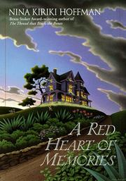 Cover of: A red heart of memories | Nina Kiriki Hoffman
