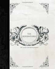 Cover of: Adventures of Louis de Rougement