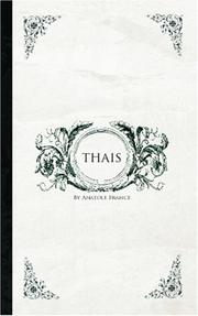 Cover of: Thais