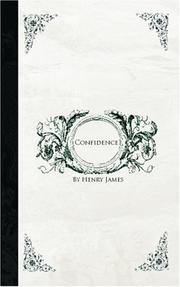 Confidence by Henry James, Jr.