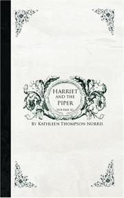 Cover of: Harriet and the Piper