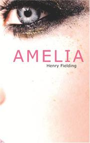 Cover of: Amelia | Henry Fielding