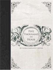 Cover of: Five Thousand an Hour