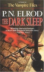 Cover of: The Dark Sleep