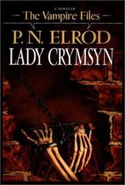 Cover of: Lady Crymsyn