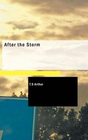 Cover of: After the Storm | T.S Arthur