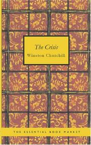 Cover of: The Crisis | Winston Churchill