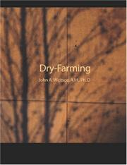 Cover of: Dry-Farming (Large Print Edition) | Widtsoe, John Andreas