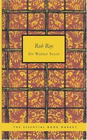 Cover of: Rob Roy | Sir Walter Scott