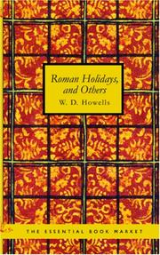 Cover of: Roman holidays, and others