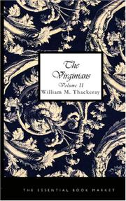 Cover of: The Virginians, Volume 1