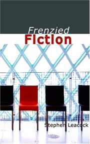 Cover of: Frenzied fiction