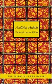 Cover of: Andivius Hedulio