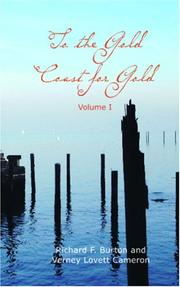 Cover of: To the Gold Coast for Gold