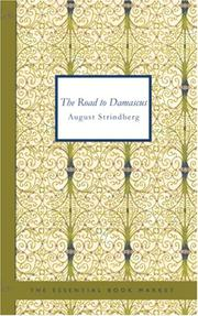 Cover of: The Road to Damascus: a trilogy