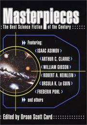 Cover of: Masterpieces | edited by Orson Scott Card.