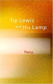 Cover of: Tip Lewis and His Lamp | Pansy
