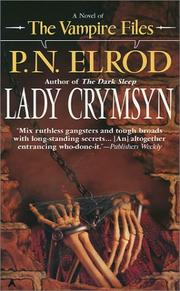 Cover of: Lady Crymsyn (The Vampire Files)