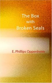 Cover of: The Box with Broken Seals