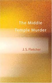 Cover of: The Middle Temple Murder | Joseph Smith Fletcher